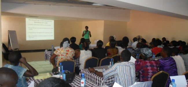 KMET & Partners Bring on board community health workers in the fight against TB in Nyanza.